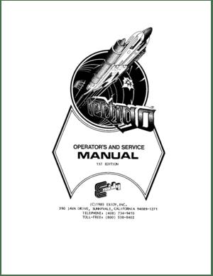 Exidy Vertigo First Edition OperatorS Service Manual
