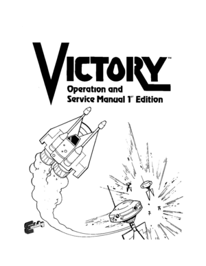 Exidy Victory First Edition Operation Service Manual