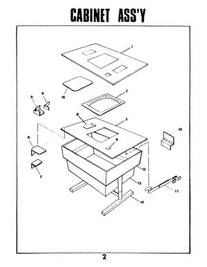 Taito Space Invaders Catalog Manual