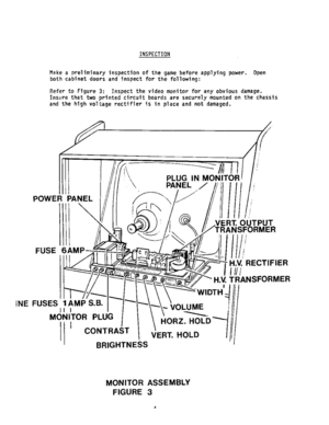 Electra Games Flying Fortress Operator Service Manual