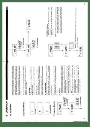 Alinco Dj-x1 Receiver Instruction Manual