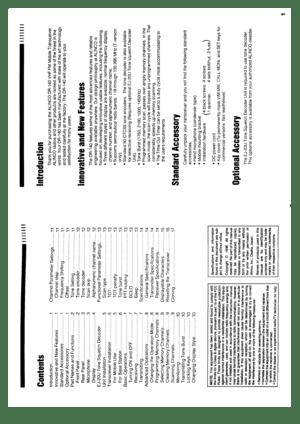 Alinco Dr-140 Vhf Fm Mobile Transceiver Instruction Manual