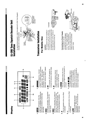 Alinco Dr-140 Vhf Fm Mobile Transceiver Instruction Manual