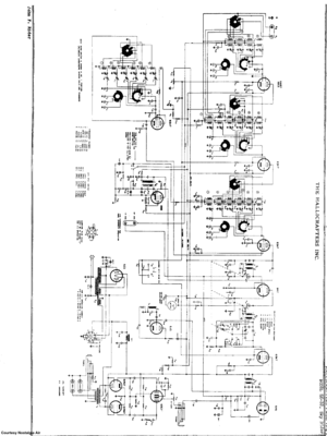 Hallicrafters Sx-32 Communications Reciever Scheme Manual