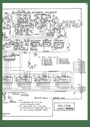 Yaesu Musen Yaesu Frg 7700 Hf Communications Reciever