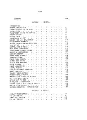 Yaesu Musen Yaesu Ft 221 Service Manual