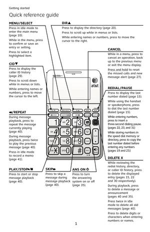 ATT CL4940 User Manual
