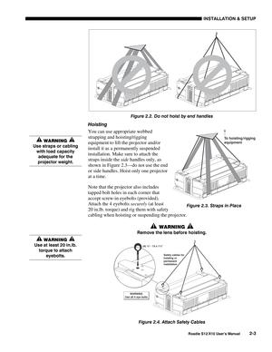 Projector Christie Roadie X10 User Manual