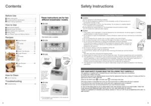 Panasonic Breadmaker Recipe Bread Book Sd255 Manual