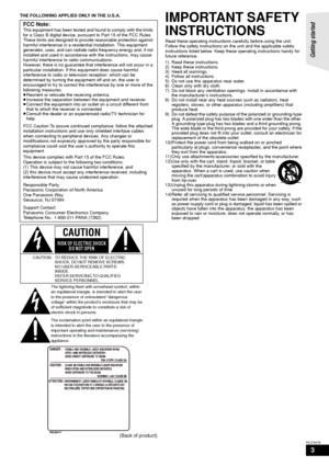 Panasonic Sc Btx70 Operating Instructions