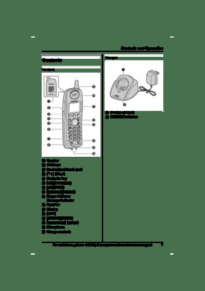 Panasonic Expandable Digital Cordless Handset Kx-tga551