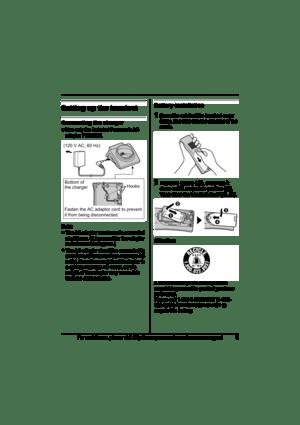 Panasonic Expandable Digital Cordless Handset Kx-tga570