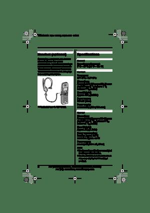 Panasonic Global Voip Telephone Cordless Handset Bb-gta150