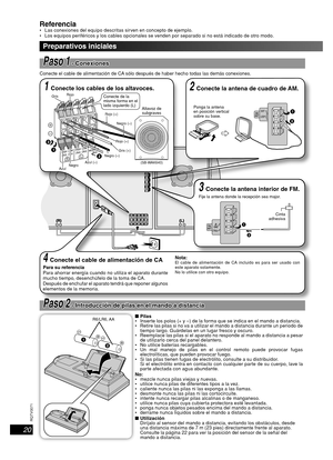 Panasonic Cd Stereo System Sc-ak640 Operating Instructions