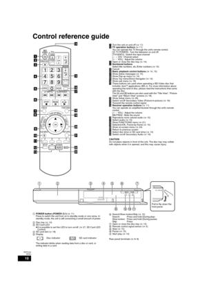 Panasonic Dmp Bd50 Operating Instructions