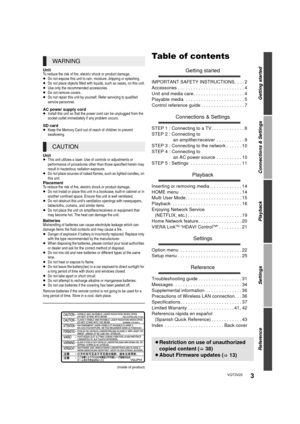 Panasonic Dmp Bdt220 Owners Manual