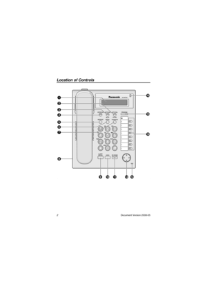 Panasonic Kx Nt321 Information Manual