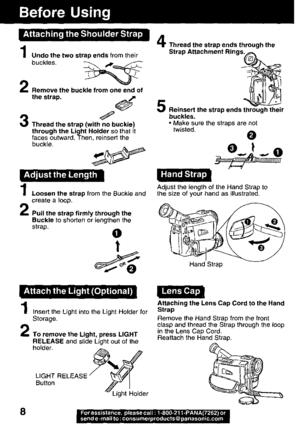 Panasonic Pv Dv121 Operating Instructions Manual