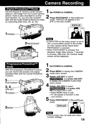 Panasonic Pv Dv92 Operating Instructions Manual
