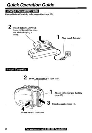 Panasonic Pv D209moperating Instructions Manual