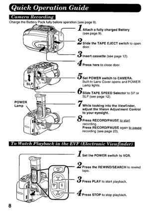 Panasonic Pv D318 Operating Instructions Manual