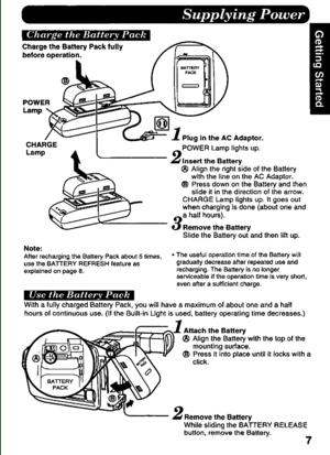 Panasonic Pv D486 Operating Instructions Manual