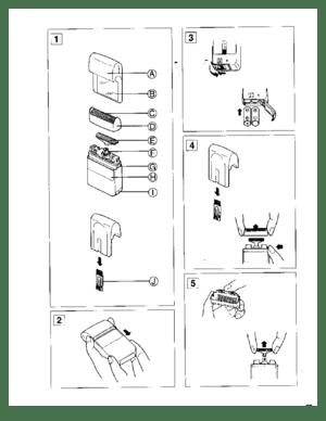 Panasonic Cordless Shaver Es 843 Operating Instructions