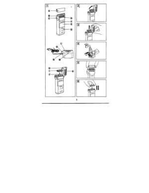 Panasonic Shaver Wet Dry Es 327 Operating Instructions