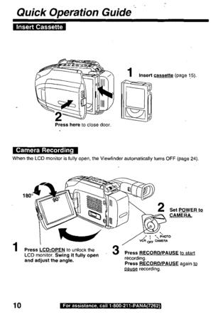 Panasonic Pv L759 Operating Instructions Manual