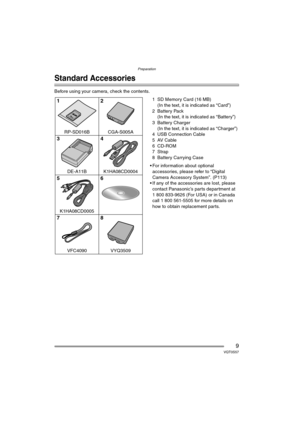 Panasonic Dmc Fx9 Operating Instructions Manual