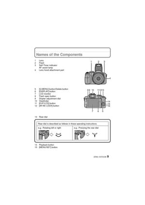 Panasonic Dmc Fz100 Basic Operating Instructions Manual
