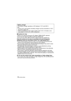Panasonic Dmc Fh20 Basic Operating Instructions Manual