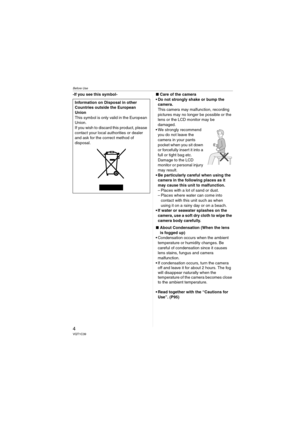 Panasonic Digital Camera Dmc Lz7 Operating Instructions