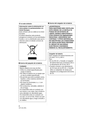 Panasonic Dmc Fx33 Spanish Version Manual
