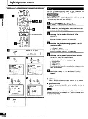 Panasonic Dvd A7 Operating Instructions Manual