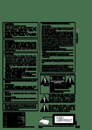 Panasonic Dvd Rp82 Operating Instructions Manual