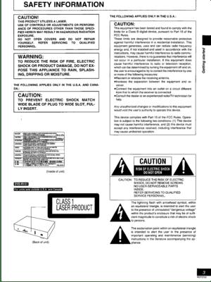 Panasonic Dvd Rv41 Operating Instructions Manual