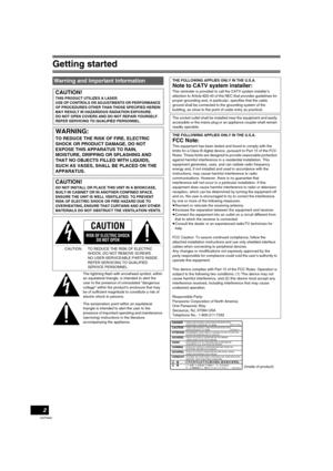 Panasonic Dmr Es30 Operating Instructions Manual