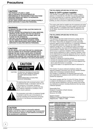 Panasonic Dmr Ez27 Operating Instructions Manual