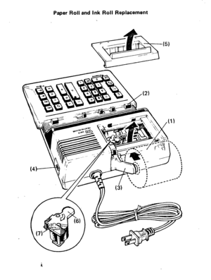 Panasonic Electronic Calculator Je 760 Operating Instructions