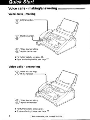 Panasonic Kx Fp101 Operating Instruction Manual