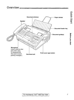 Panasonic Kx F880 Operating Instruction Manual