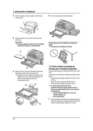 Panasonic Kx Lfb851 Spanish Version Manual