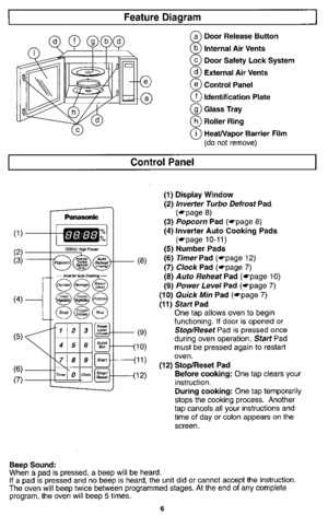 Panasonic Microwave Oven Nn S740 Operating Instructions
