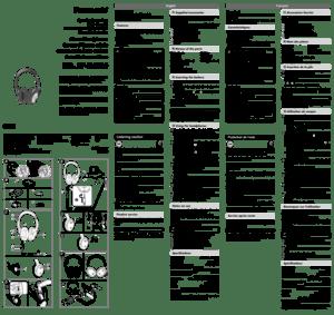 Panasonic Rp Hc300 Operating Instructions Manual