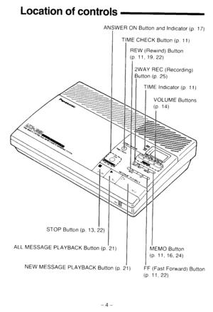 Panasonic Kx T2300 Operating Instructions Manual