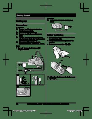 Panasonic Kx Tge432 Operating Instructions Manual