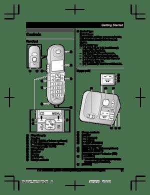 Panasonic Kx Tgl430 Operating Instructions Manual