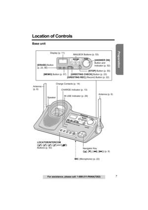 Panasonic Kx Tg5210 Operating Instructions Manual
