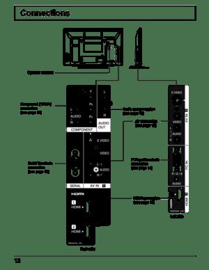 Panasonic 42inch Plasma Display TH-42PRT12U Manual